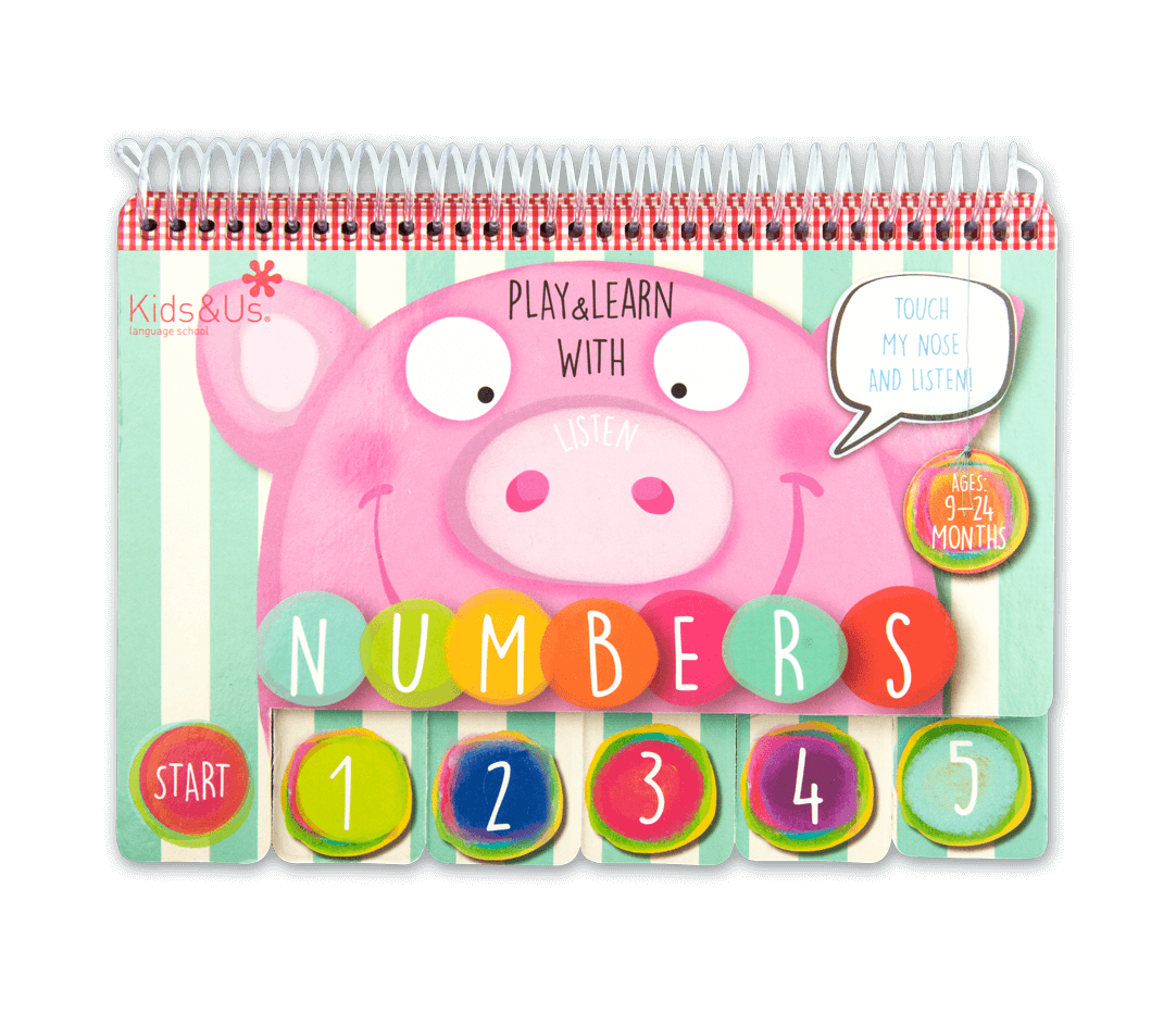 Read the Kids&Us Play&Learn with Numbers book