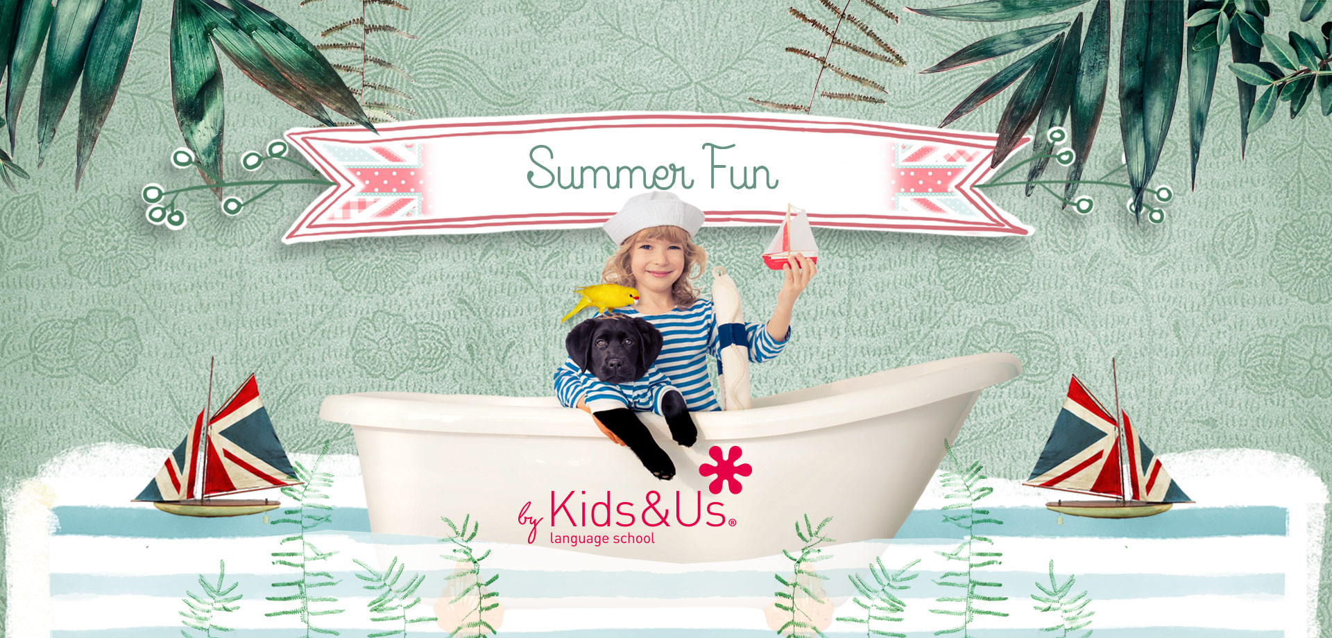 English Summer Fun Kids&Us